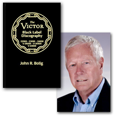 JOHN BOLIG & NEW VICTOR DISCOGRAPHY VOLUME