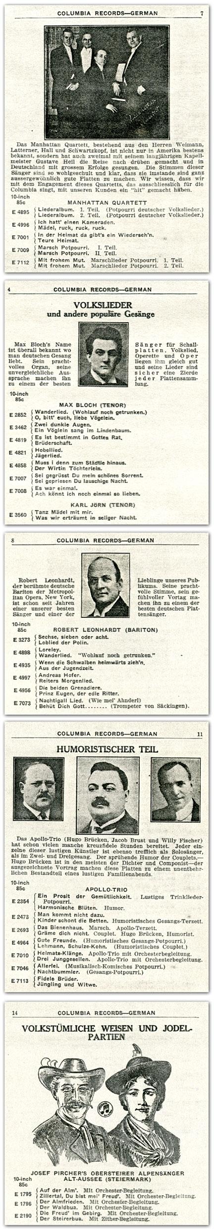 COLUMBIA_german-1921